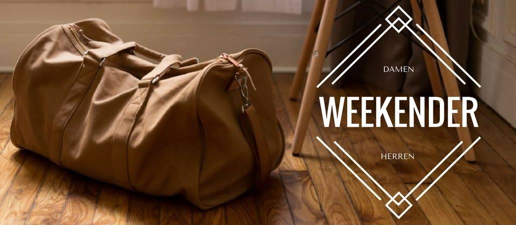Weekender Taschen für Damen und Herren