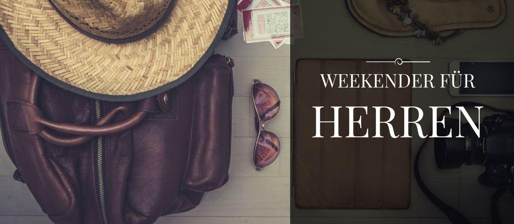 Weekender Taschen für Herren